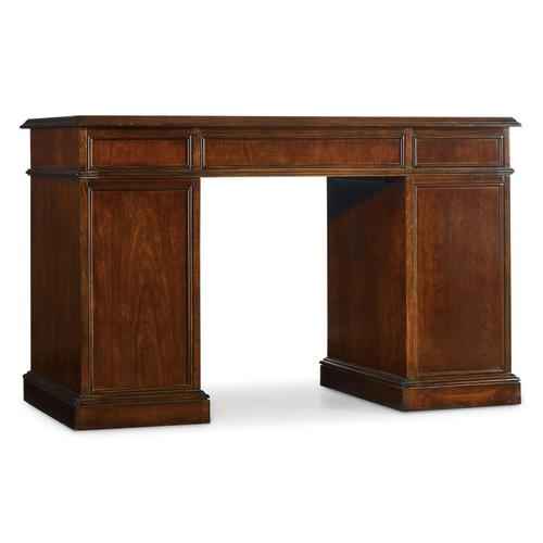 Hooker Furniture - Cherry Knee-Hole Desk-Bow Front