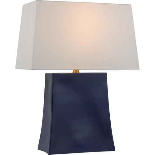 Visual Comfort - Chapman & Myers Lucera 26 inch 15.00 watt Denim Table Lamp Portable Light, Medium