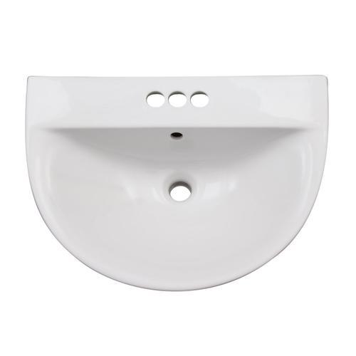 """Morning 600 Wall-Hung Basin - 4"""" Centerset"""