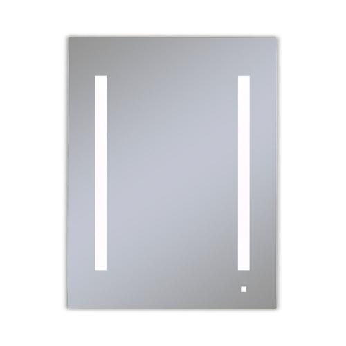 """Robern - Aio 23-1/4"""" X 30"""" X 4"""" Single Door Lighted Cabinet With LED Lighting In Bright White (4000k), Dimmable, Built-in Om Audio, Interior Lighting, Electrical Outlet, Usb Charging Ports, Magnetic Storage Strip, Left Hinge"""
