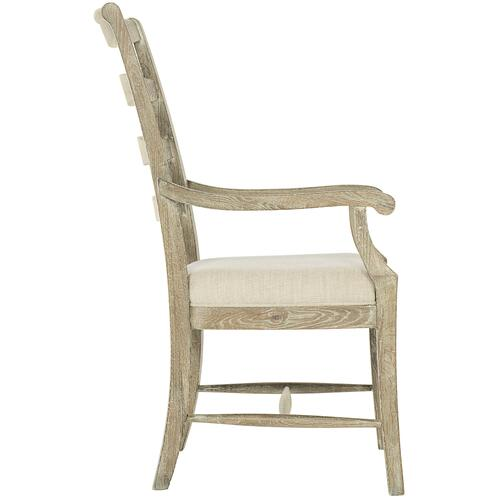 Gallery - Rustic Patina Ladderback Arm Chair in Sand (387)