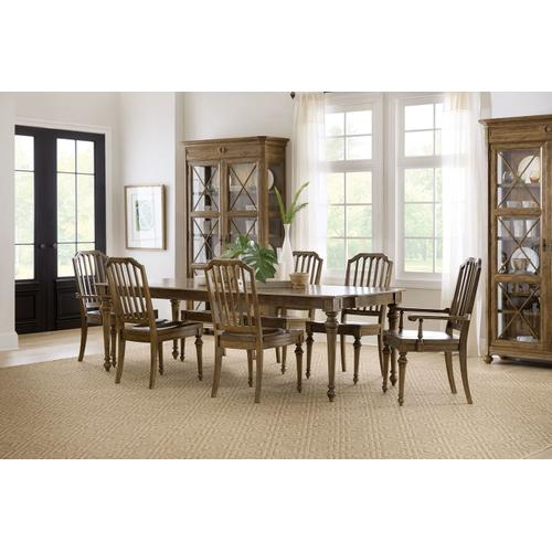 Dining Room Ballantyne Wood Seat Side Chair - 2 per carton/price ea