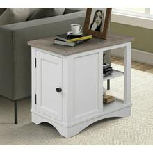 View Product - AMERICANA MODERN - COTTON Chairside Table