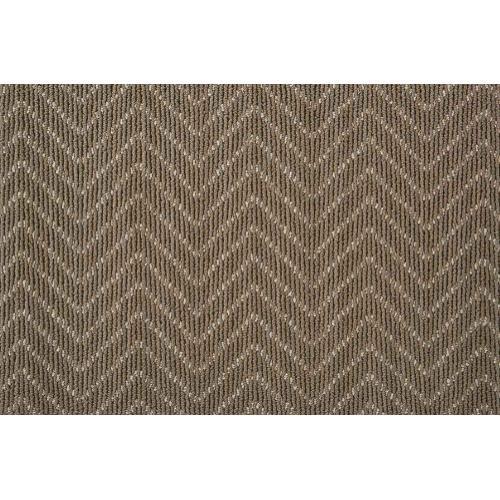Lustrous Chevron Chvr Driftwood Broadloom Carpet