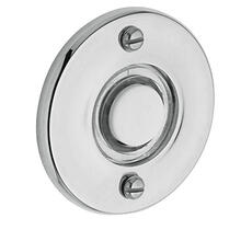 Polished Chrome Round Bell Button