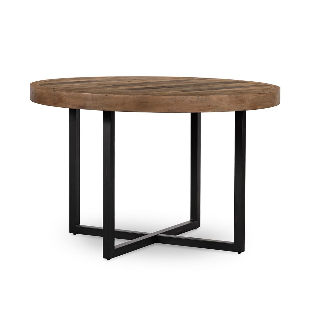 """Woodenforge Round Dining Table 47""""-ol"""