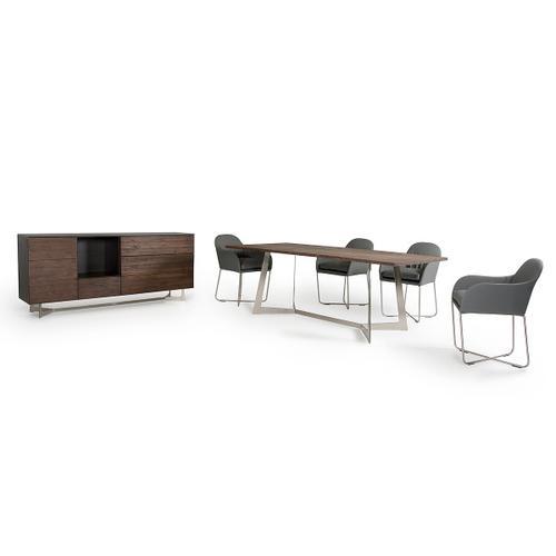VIG Furniture - Modrest Wharton Modern Dark Aged Oak Buffet