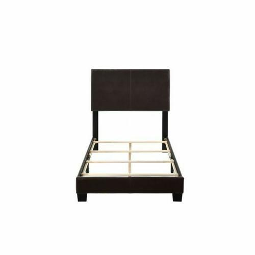 ACME Lien Twin Bed - 25756T - Espresso PU