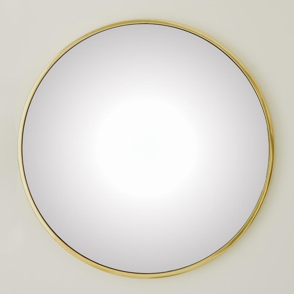 See Details - Hoop Convex Mirror-Brass-Lg