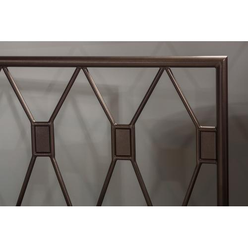 Tripoli Full Headboard Only, Metallic Brown