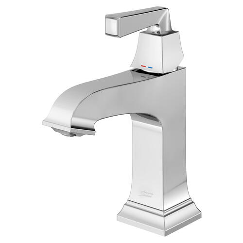 American Standard - Town Square S Single-Handle Faucet with Red/Blue Indicators  American Standard - Polished Chrome