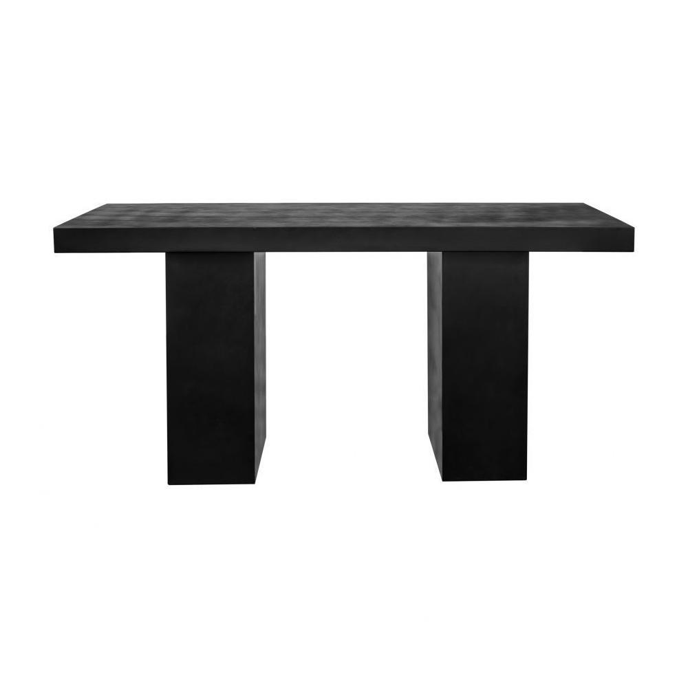 See Details - Aurelius 2 Outdoor Dining Table Black
