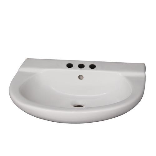 """Jayden Wall-Hung Basin - 4"""" Centerset"""