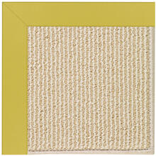 Creative Concepts-Beach Sisal Canvas Lemon Grass Machine Tufted Rugs