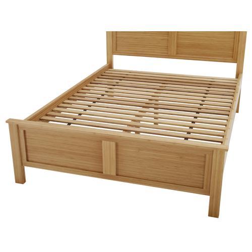 Hosta California King Platform Bed, Caramelized