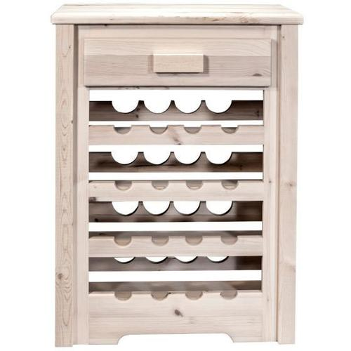 Montana Woodworks - Homestead Collection Wine Cabinet