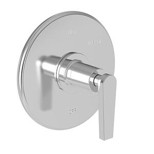 Oil Rubbed Bronze - Hand Relieved Balanced Pressure Shower Trim Plate with Handle. Less showerhead, arm and flange.