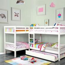 See Details - Marquette Quadruple Twin Bunk Bed