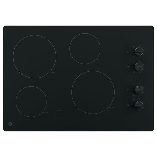 """Product Image - GE® 30"""" Built-In Knob Control Electric Cooktop"""