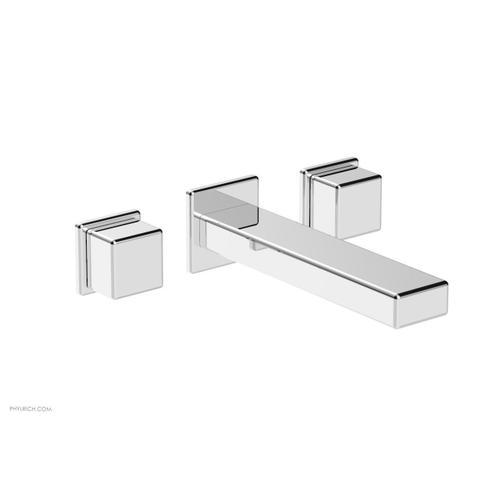 MIX Wall Lavatory Set - Cube Handles 290-14 - Polished Chrome