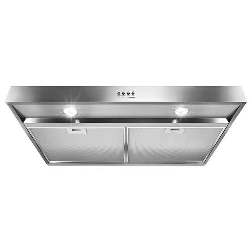 """Gallery - 30"""" Range Hood with Dishwasher-Safe Full-Width Grease Filters"""