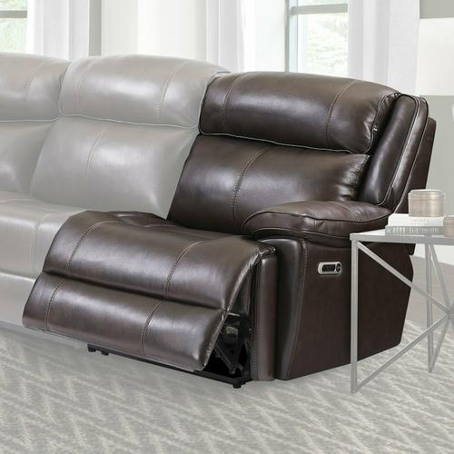 Parker House - ECLIPSE - FLORENCE BROWN Power Right Arm Facing Recliner
