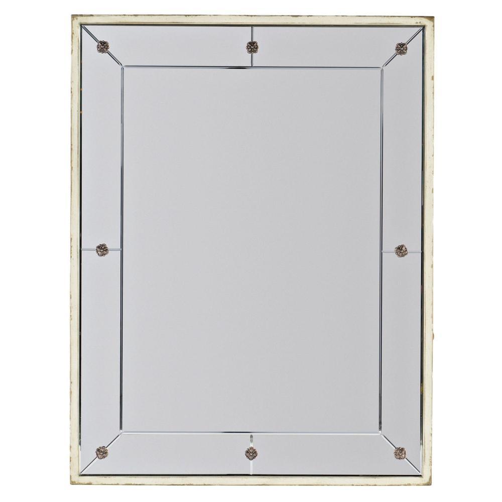 Bedroom Sanctuary Mirror Blanc