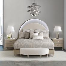 See Details - Cal King Bed W/ Lights