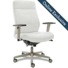 See Details - Baylor Executive Office Chair, White