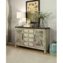 ACME Vermont Console Table - 90288 - Antique White