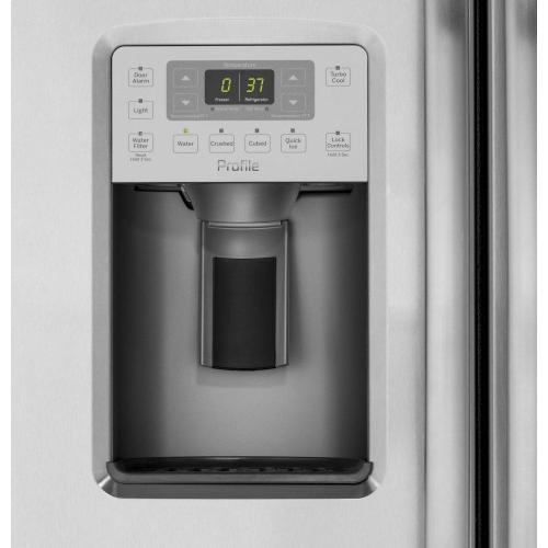 Product Image - GE Profile™ Series 21.9 Cu. Ft. Counter-Depth Side-By-Side Refrigerator