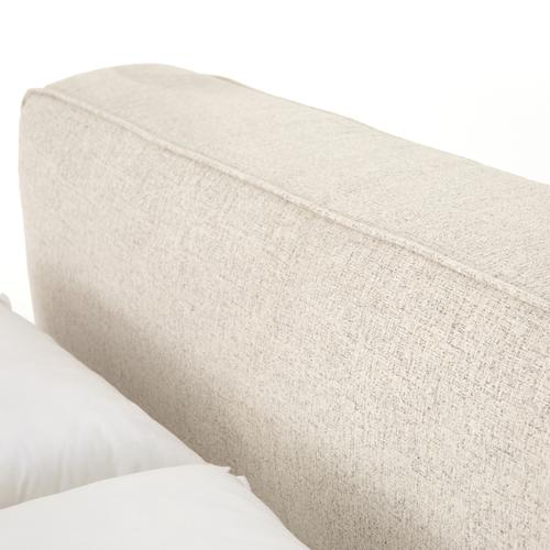 Queen Size Plushtone Linen Cover Aidan Bed