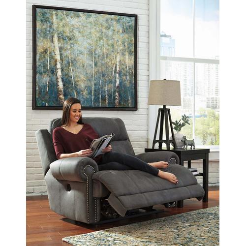 Austere Zero Wall Power Wide Recliner Gray
