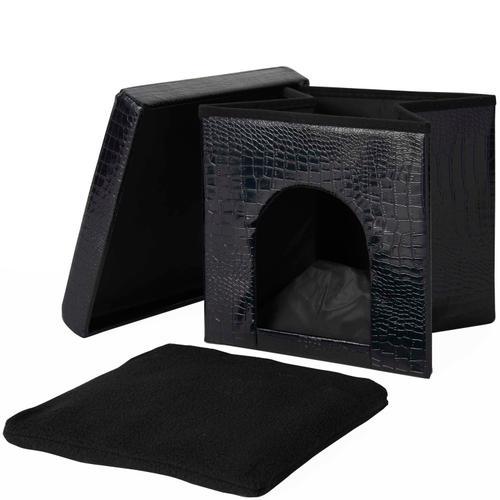 """Pet Beds Ht015 Black 15"""" X 15"""" X 15"""" Pet Bed"""