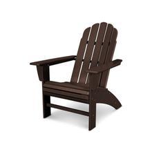 Mahogany Vineyard Curveback Adirondack Chair
