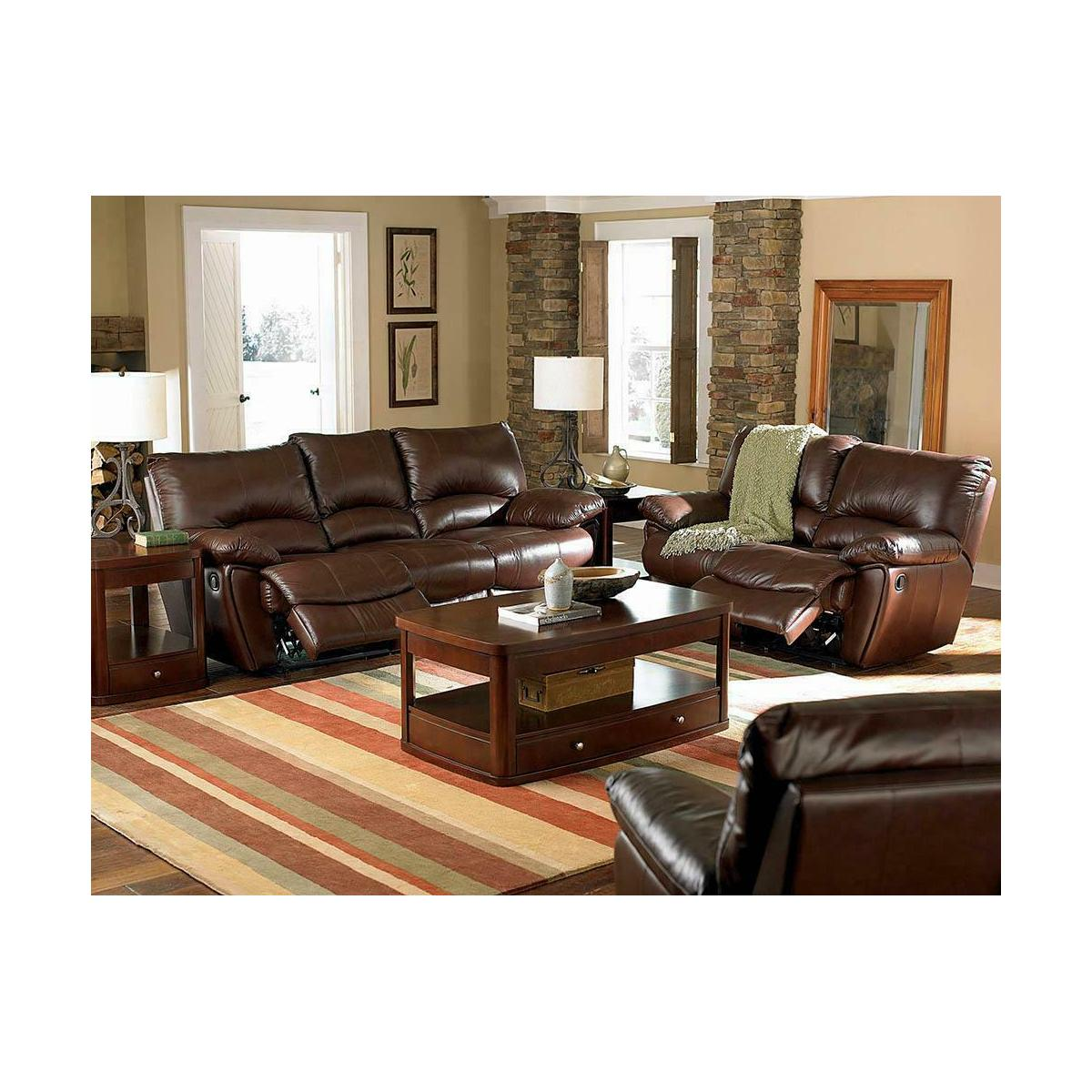 Clifford Motion Dark Brown Sofa