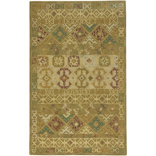Izmir-Afghan Antique Gold - Rectangle - 5' x 8'