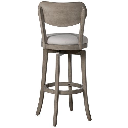 Hillsdale Furniture - Sloan Swivel Counter Stool - Aged Gray