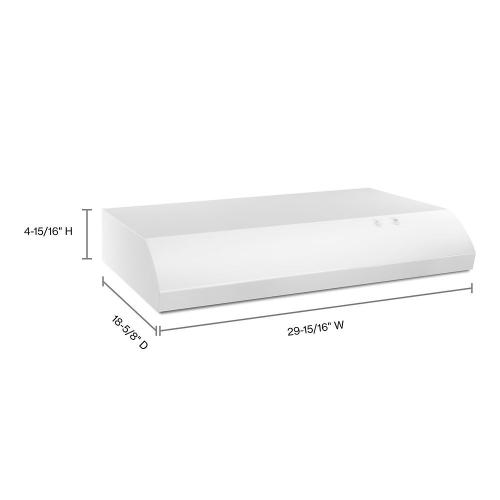 """Maytag Canada - 30"""" Range Hood with the FIT System"""