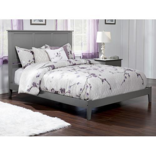 Madison King Bed in Atlantic Grey