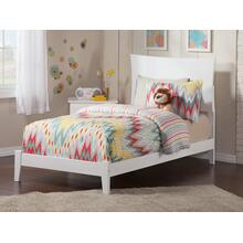 Metro Twin Bed in White