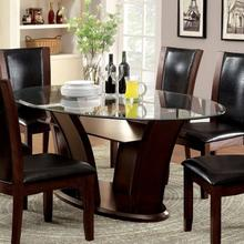 View Product - Manhattan Oval Dining Table