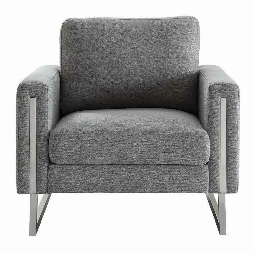 Stellan Contemporary Grey Chair