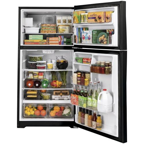 GE® ENERGY STAR® 21.9 Cu. Ft. Top-Freezer Refrigerator