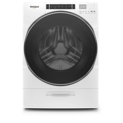 Gallery - 5.0 cu. ft. Front Load Washer with Load & Go™ XL Dispenser White