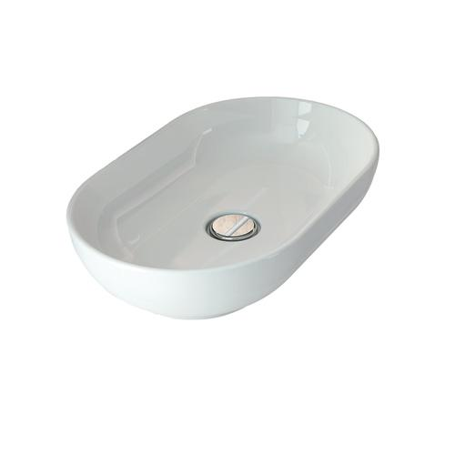 Harmony Oval Above Counter Basin - White
