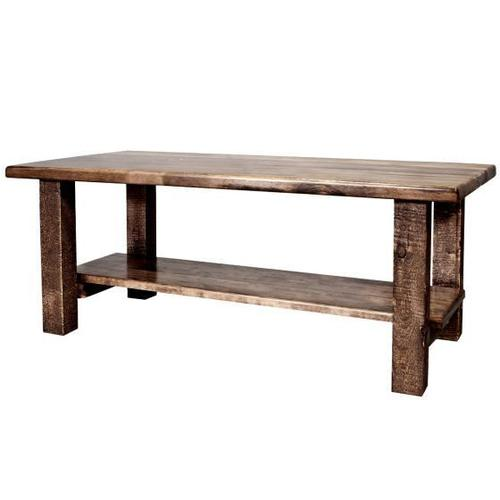Montana Woodworks - Homestead Collection Coffee Table, Stain and Lacquer Finish