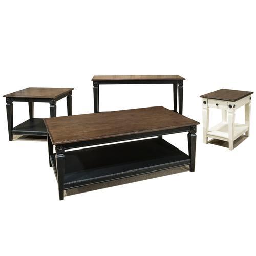 Intercon Furniture - Glennwood Coffee Table  Black & Charcoal