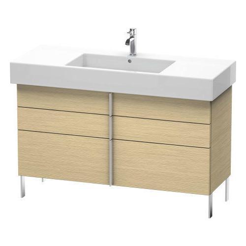 Duravit - Vanity Unit Floorstanding, Brushed Oak (real Wood Veneer)
