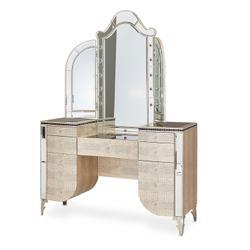 Vanity Desk & Mirror 2 PC